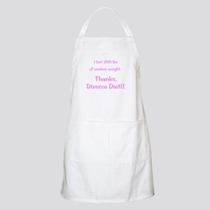 Divorce Diet Apron