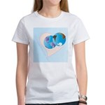 Love Makes the World go 'Round Women's T-Shirt