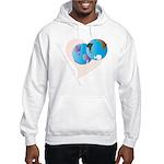 Love Makes the World go 'Round Hooded Sweatshirt