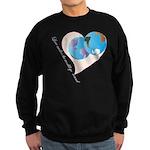 Love Makes the World go 'Round Sweatshirt (dark)