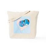 Love Makes the World go 'Round Tote Bag