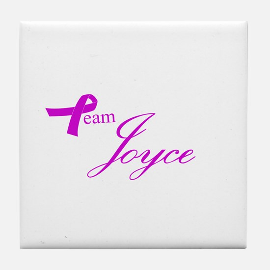 Team Joyce Tile Coaster