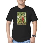 Jack And The Beanstalk Men's Fitted T-Shirt (dark)