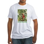 Jack And The Beanstalk Fitted T-Shirt