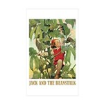Jack And The Beanstalk Sticker (Rectangle 10 pk)