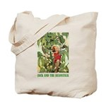 Jack And The Beanstalk Tote Bag