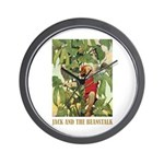 Jack And The Beanstalk Wall Clock