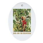 Jack And The Beanstalk Ornament (Oval)