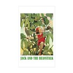 Jack And The Beanstalk Sticker (Rectangle 50 pk)