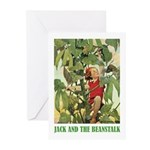 Jack And The Beanstalk Greeting Cards (Pk of 20)