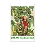 Jack And The Beanstalk Mini Poster Print