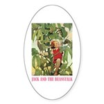 Jack And The Beanstalk Sticker (Oval 50 pk)