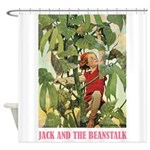 Jack And The Beanstalk Shower Curtain