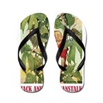 Jack And The Beanstalk Flip Flops