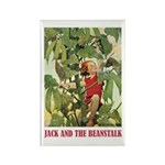 Jack And The Beanstalk Rectangle Magnet (100 pack)