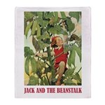 Jack And The Beanstalk Throw Blanket