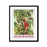 Jack And The Beanstalk Framed Panel Print