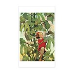 Jack And The Beanstalk Sticker (Rectangle)