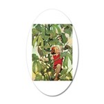 Jack And The Beanstalk 20x12 Oval Wall Decal