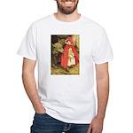 Little Red Riding Hood White T-Shirt