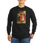 Little Red Riding Hood Long Sleeve Dark T-Shirt