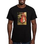 Little Red Riding Hood Men's Fitted T-Shirt (dark)