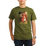 Little Red Riding Hood Organic Men's T-Shirt (dark