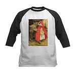 Little Red Riding Hood Kids Baseball Jersey