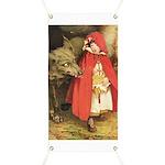 Little Red Riding Hood Banner