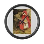 Little Red Riding Hood Large Wall Clock