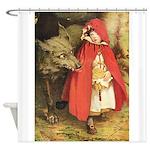 Little Red Riding Hood Shower Curtain