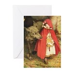Little Red Riding Hood Greeting Cards (Pk of 10)