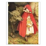Little Red Riding Hood Small Poster