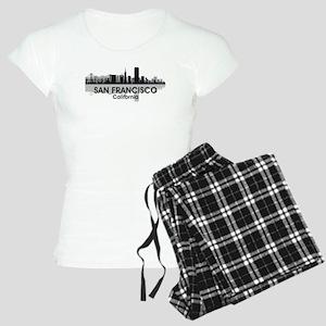 San Francisco Skyline Women's Light Pajamas