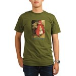 Little Red Riding Hood Organic Men's T-Shirt (dark
