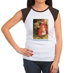 Little Red Riding Hood Women's Cap Sleeve T-Shirt
