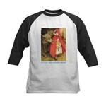 Little Red Riding Hood Kids Baseball Jersey