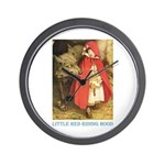 Little Red Riding Hood Wall Clock