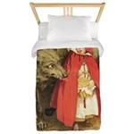 Little Red Riding Hood Twin Duvet