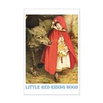 Little Red Riding Hood Mini Poster Print