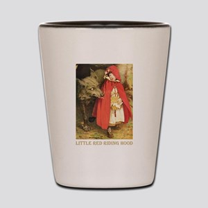 Little Red Riding Hood Shot Glass