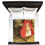 Little Red Riding Hood King Duvet