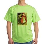 Little Red Riding Hood Green T-Shirt