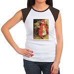 Little Red Riding Hood Women's Cap Sleeve T-Shirt