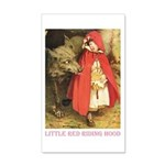 Little Red Riding Hood 20x12 Wall Decal