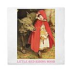 Little Red Riding Hood Queen Duvet