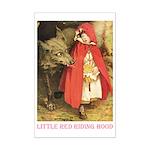 Little Red Riding Hood Mini Poster Print
