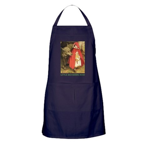 Little Red Riding Hood Apron (dark)