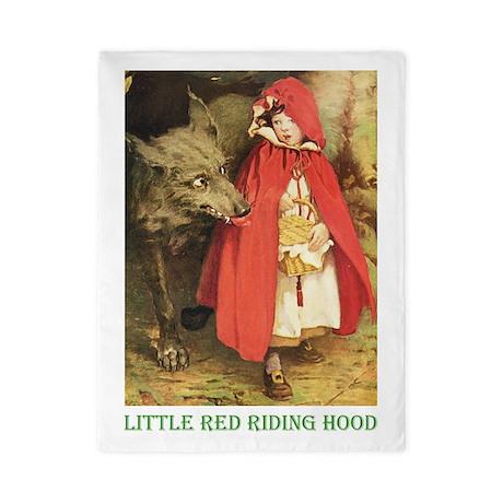 Little Red Riding Hood Twin Duvet