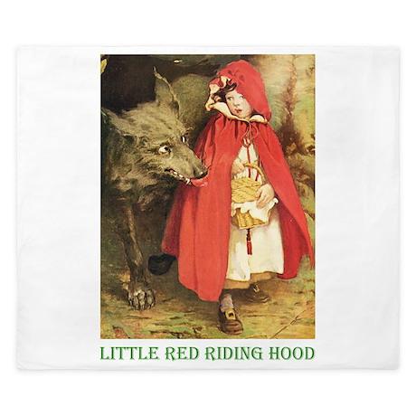 Little Red Riding Hood King Duvet